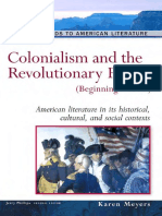 Karen Meyers - Colonialism And The Revolutionary Period_ (Beginnings-1800) (Background to American Literature) (2005).pdf