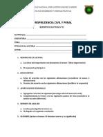 JURISPRUDENCIA CIVIL Y PENAL - REPORTE DE LECTURA.docx