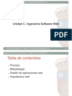 C. Ingeniería del Software Web