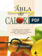 Tabla de calorías - Neil Stevens