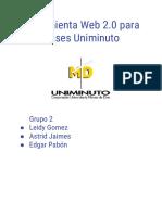 Grupo 2. Propuesta para la gestión de la información herramienta web 2.0 Microsoft Teams