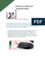 GUIA RESUMEN DE CURSO DE MAGNETISMO