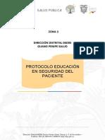 13.-PROTOCOLO  EDUCACIÓN EN SEGURIDAD DEL PACIENTE.docx