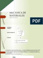 MECANICA DE MATERIALES INTRODUCCION