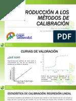 INTRODUCCIÓN A LOS MÉTODOS DE CALIBRACIÓN