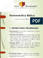 Presentacion Modulo Hermenéutica Bíblica revisado