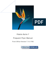 Fidelio Frequent Flyer Manual V7.14.1705