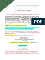 CIWA SPECIFIC INSTRUCTIONS