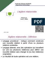 Chap5-AlgèbreRelationnelle
