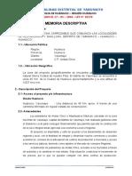 06 DECLARATORIA DE FÁBRICA o memoria descriptiva
