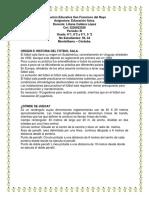 TALLER DE EDUCACION FISICA 8 ° y  9° 5 guia