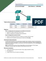 1.3.1.2 Lab - Building a Simple Network - Anel Atencio