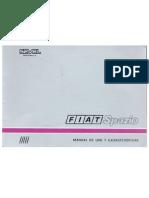 Manual Del Fiat Spazio Tr 147