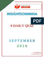 IAS Daily Quiz