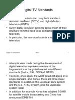 Digital TV Standards