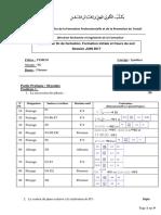 Examen FF 2017 V2 corrigé
