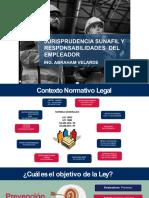 Jurisprudencia Sunafil y Responsabilidades Del Empleador Abraham Velarde