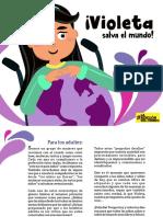 Día de la niñez - Violeta salva el mundo