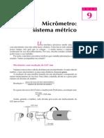 Aula 09 - Micrômetro, Sistema Métrico