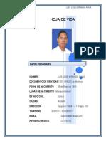 HOJA DE VIDA DR. LUIS JOSE MIRANDA