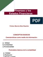 Las Finanzas y los Estados financieros