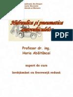 Actionari hidraulice si pneumatice