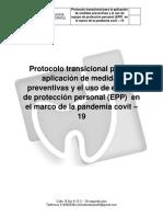 Protocolo transicional para la aplicación de medidas preventivas (clinic dental care).pdf