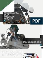 PROBLEMÁTICA DE LA POBLACIÓN PERUANA