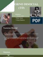 TRASTORNO DISOCIAL (TD)