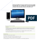 HP Pavilion Slimline PC s3610la