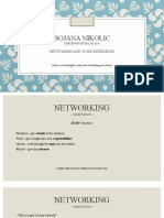 Networking and work exoerience Presentation (1)