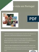 Nivel de vida em Portugal