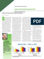 Advantage of Wavefront-guided over wavefront optimized procedures