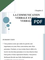 cours communication verbale et non verbales