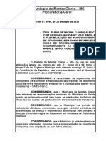 Decreto 4046 - plano municipal de flexibilização