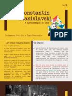 Constantin Stanislavski - Aula 1 Thais e Italo