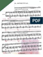 III mov - Análisis Armónico - Jean Hubeau Trumpet Sonata