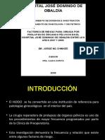 FACTORES DE RIESGO PARA POP