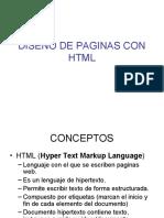 DISE_O DE PAGINAS CON HTML