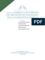 Cuestionario -Afectaciones a las familias del municipio de Huichapan en la cuarentena por COVID-19