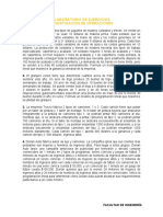 Ejercicios de formulación de PL