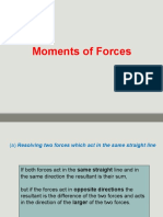 Moments of Forces