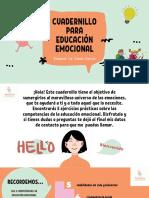 Cuadernillo ''Como desarrollar inteligencia emocional en mis hijos'' PDF
