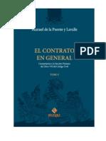 El Contrato en General-Tomo i - De la Puente