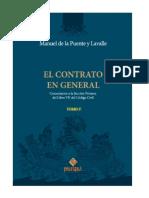 El Contrato en General-Tomo II - De la Puente
