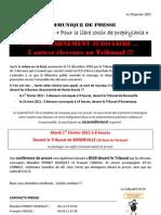 Communiqué de Presse Collectif FCO74