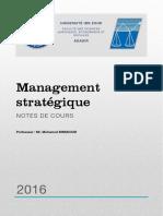 Management-stratégique-cours
