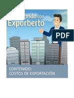 COSTOS DE EXPORTACIÓN