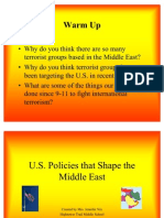 Cj Middle East Terrorism Power Point