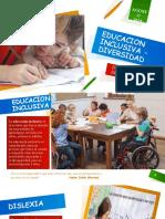 EDUCACION INCLUSIVA - DIVERSIDAD